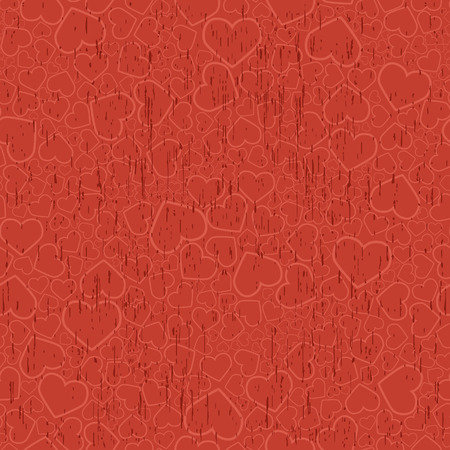 Valentine seamless background. Vector illustration Vector