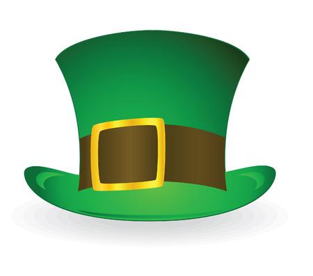 Patrick's hat. Vector illustration Stock Vector - 4165710