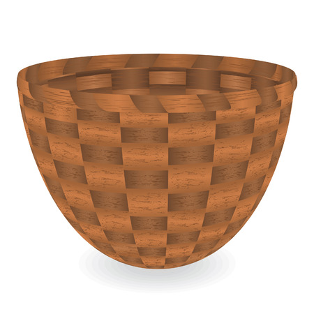 Basket. Vector illustration Vector