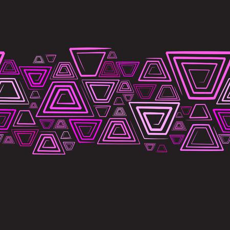 manic: Seamless horizontal background. Vector illustration