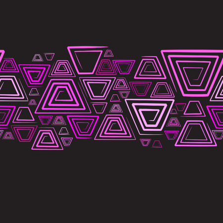 quadratic: Segundo plano horizontal sin inconvenientes. Ilustraci�n vectorial