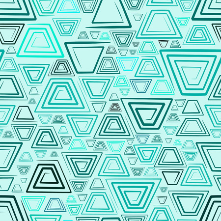quadratic: Senza soluzione di continuit� di fondo con spirali. Vector illustration Vettoriali