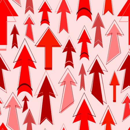 Seamless arrows. Vector illustration Vector