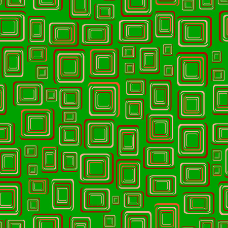 Seamless background with squares. Vector illustration Vector