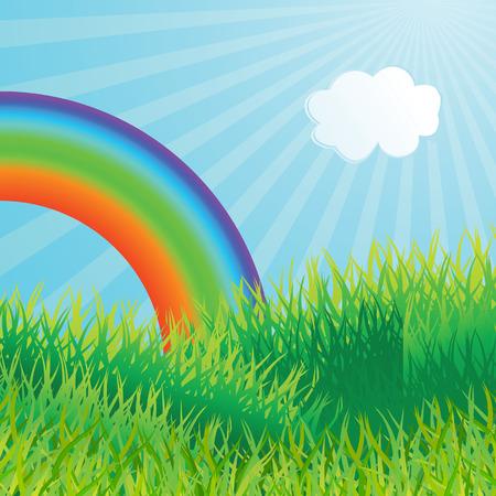 Ecological background. Vector illustration Stock Vector - 4409774