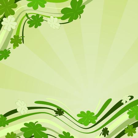 Patrick�s background. Vector illustration Stock Vector - 4439514