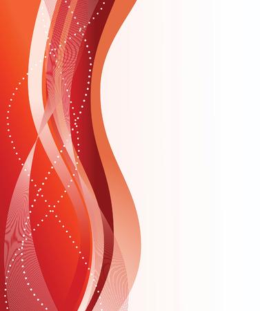 dynamic movement: Resumen fondo rojo. Ilustraci�n vectorial