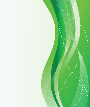 Abstract green background. Vector illustration Stock Vector - 4475840