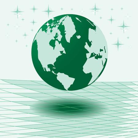 Vector illustration map of world Stock Vector - 4475841