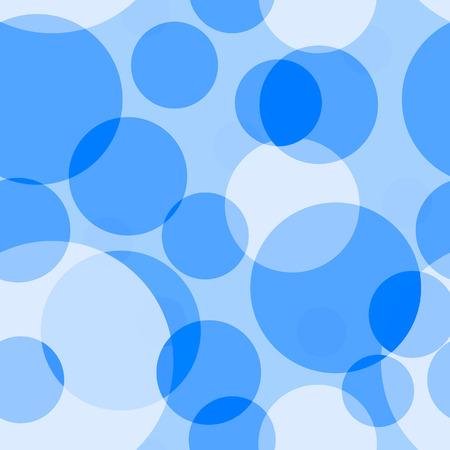 abstracte vormen: Blauwe naadloze achtergrond. Vector afbeelding Stock Illustratie