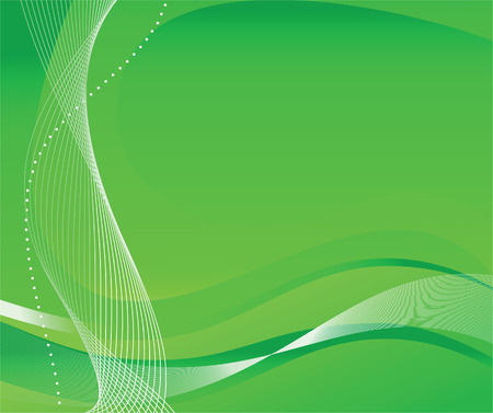 Abstract green background. Vector illustration Vector