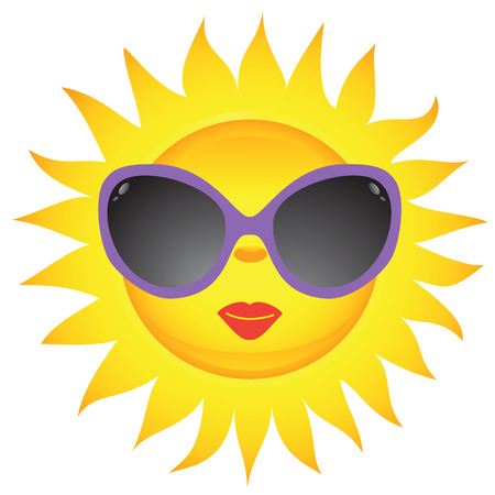 Sun icons. Vector illustration    Vector
