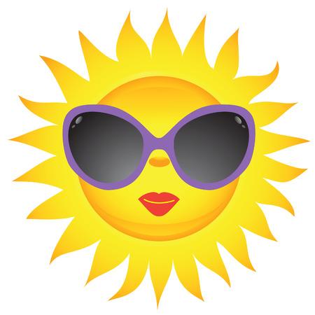 Sun icons. Vector illustration    Stock Vector - 4609790
