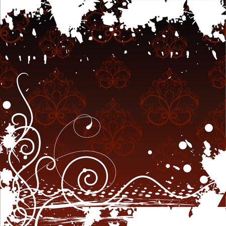 fumes: Grunge background. Vector illustration Illustration