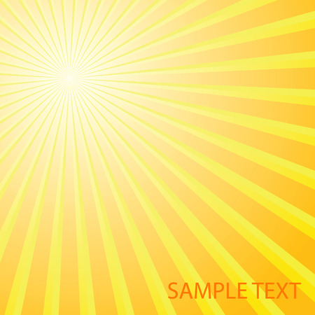 Abstract solar background. Vector illustration Stock Vector - 5296460