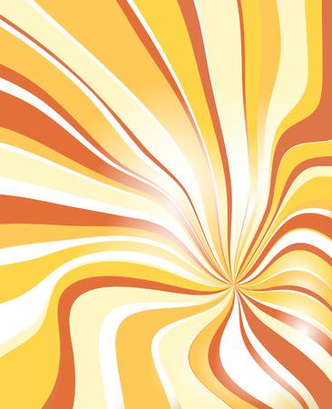 Abstract solar background. Vector illustration Vector