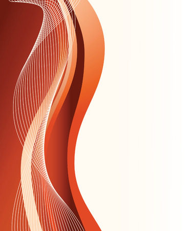 Abstract red background. Vector illustration Illustration