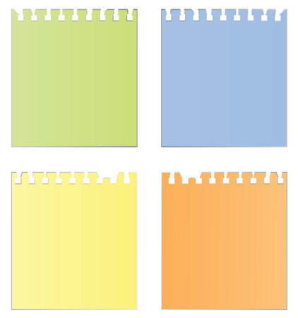 Structure of  paper. Vector illustration Vector