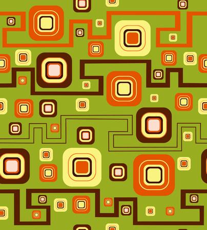 quadratic: Elegante sfondo con zigzag. Illustrazione vettoriale
