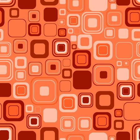 manic: Seamless sfondo arancione. illustrazione  Vettoriali