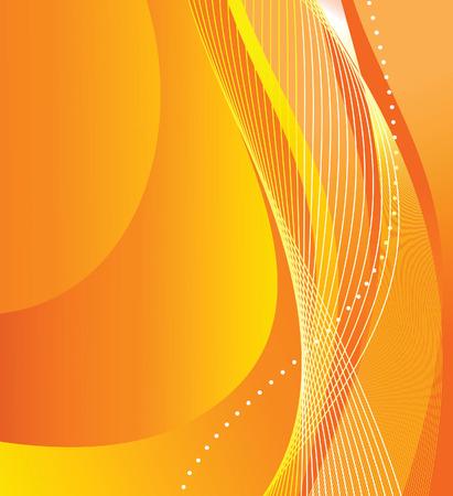Abstract orange background. Vector illustration Illustration