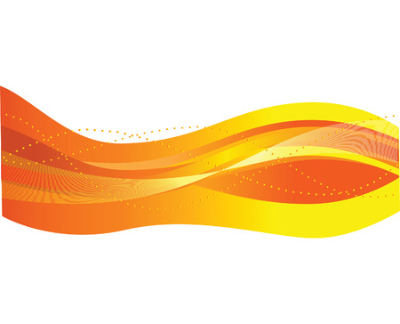 Abstract background with waves.  illustration Stock Vector - 6854950