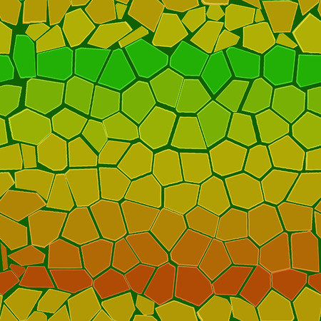 Abstract colourful background from bricks. Seamless Vector