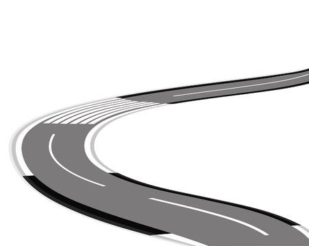 road Stock Vector - 7165310