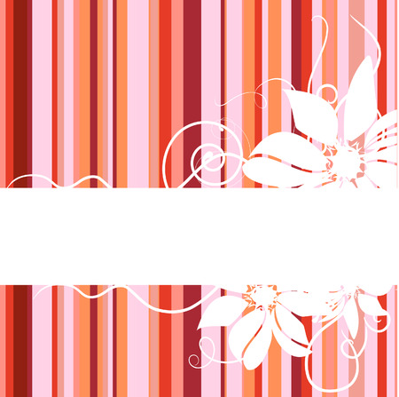 Floral abstract banner. Stock Vector - 7508690