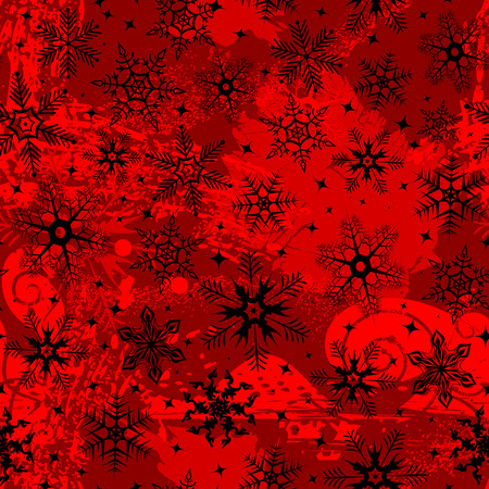 Christmas grunge a background  illustration Stock Vector - 8053220