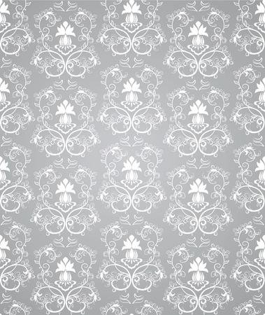 Seamless floral pattern.   illustration Illustration