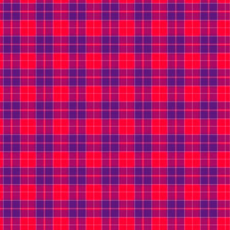 Fabric in red and blue fiber seamless pattern Stock Photo