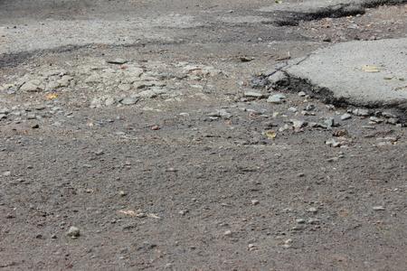 dangerous road: old dangerous road