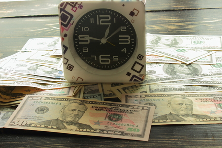 economic activity: are dollar bills and stands Service