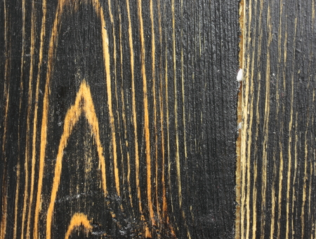 duckboards: close-up of wood texture black