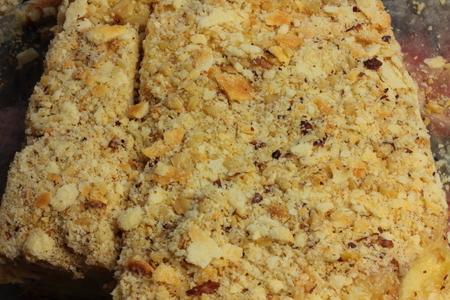 napoleon: It is a sweet delicious cake napoleon