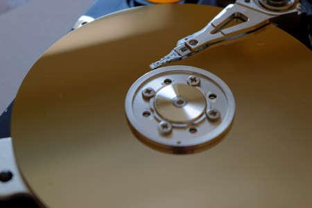 disk drive: Hard disk drive - information storage