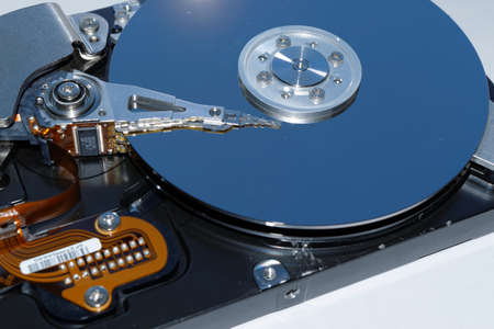 hard disk drive: Hard disk drive - information storage
