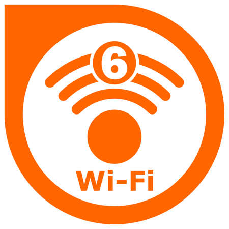 Wi-Fi 6 generation logo design