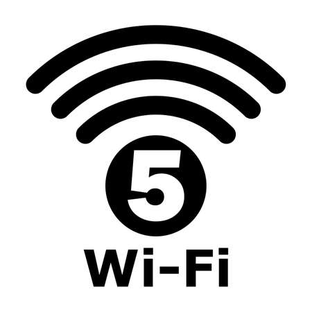 Wi-Fi 5 generation logo design
