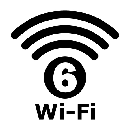 Wi-Fi 6 generation logo design