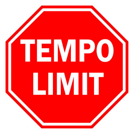 Tempo limit Illustration