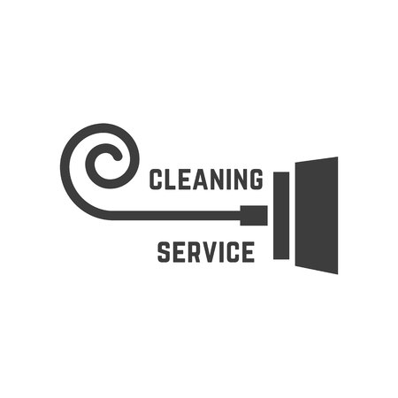 vacuum cleaner like cleaning service logo