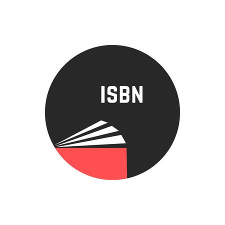 writer: book with isbn in circle