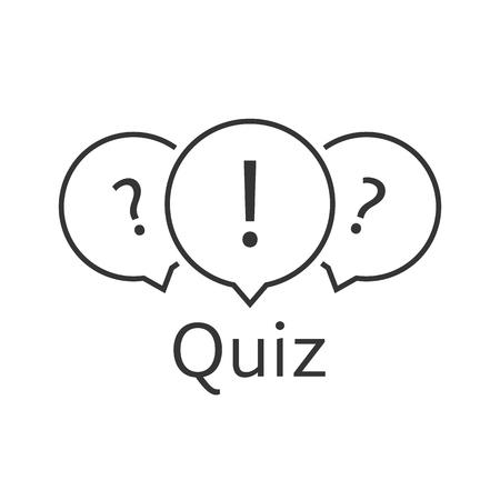 quest: black thin line quiz