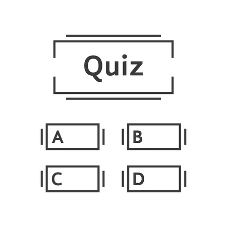 thin line quiz game template