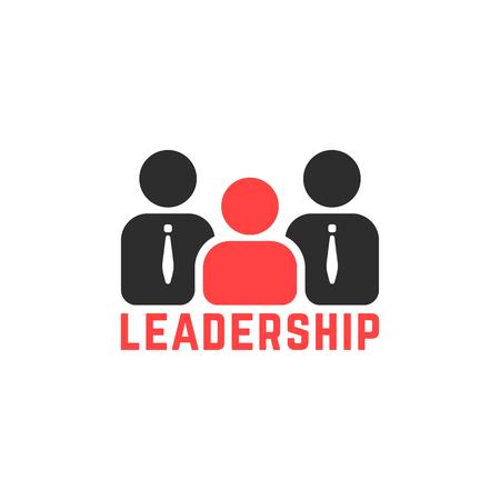 simple leadership logo like team work