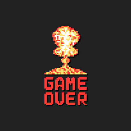 Game over icon.