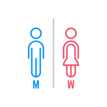Male and female icon.