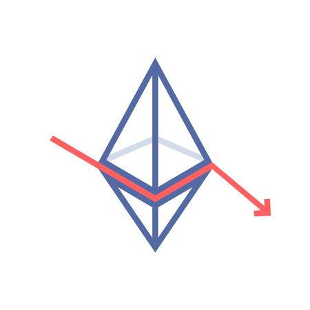 ethereum value fallen like monetary loss